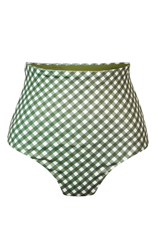 Medium camp cove plaid katie high rise gingham cheeky bottom