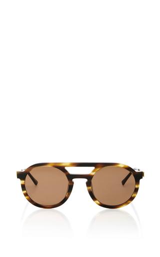 Medium thierry lasry brown gravity sunglasses