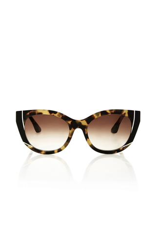 Medium thierry lasry brown nevermindy sunglasses