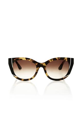 Medium thierry lasry brown nevermindy sunglasses