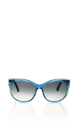 Medium thierry lasry blue polygamy sunglasses