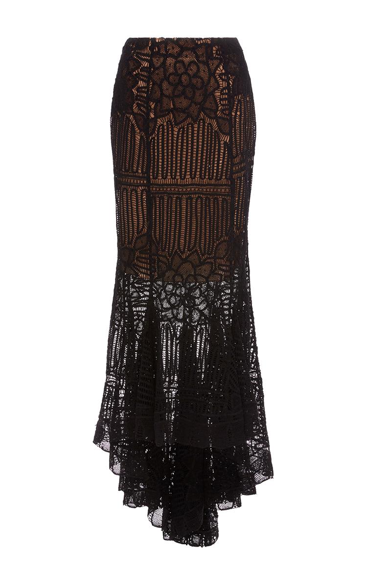4fbb6daa4 The Rosario Midi Lace Skirt by Martha Medeiros | Moda Operandi