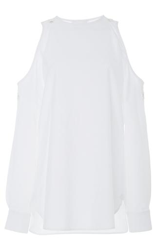 Medium monographie white fragment off shoulder shirt