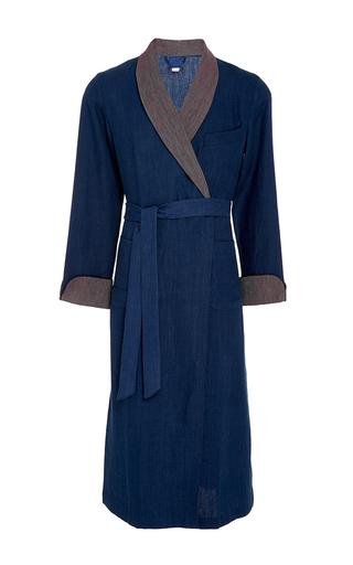 Medium morpho luna blue emilio dressing gown