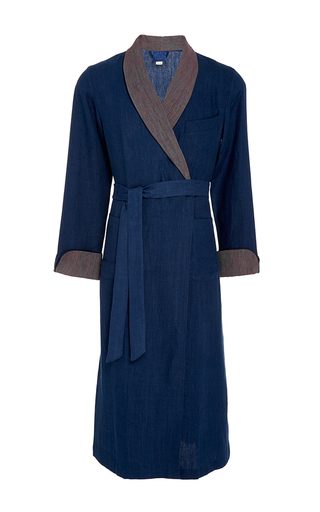 Medium morpho luna blue emilio dressing gown