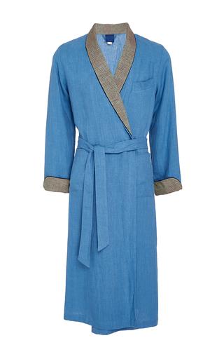 Medium morpho luna light blue emilio dressing gown