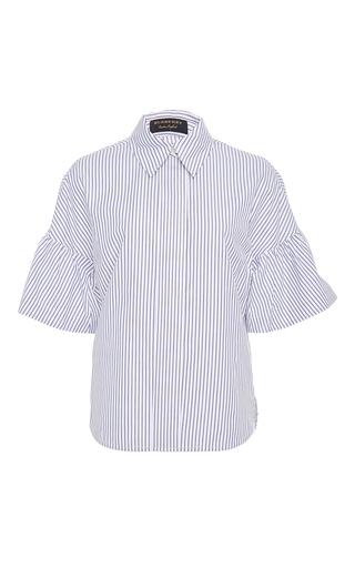 Medium burberry stripe striped button down shirt