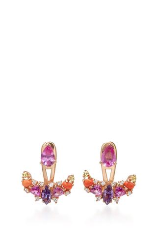 Rose Twinkle Ear Jackets by ANABELA CHAN Now Available on Moda Operandi