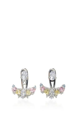 Medium anabela chan silver diamond twinkle ear jackets