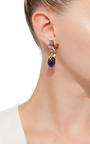 Blackberry Drop Earrings by ANABELA CHAN Now Available on Moda Operandi