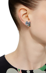Blueberry Drop Earrings by ANABELA CHAN Now Available on Moda Operandi