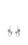 Butterfly Topaz Earrings by ANABELA CHAN Now Available on Moda Operandi