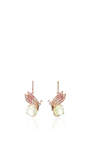 Butterfly Quartz Earrings by ANABELA CHAN Now Available on Moda Operandi