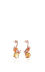 Butterfly Citrine Earrings by ANABELA CHAN Now Available on Moda Operandi