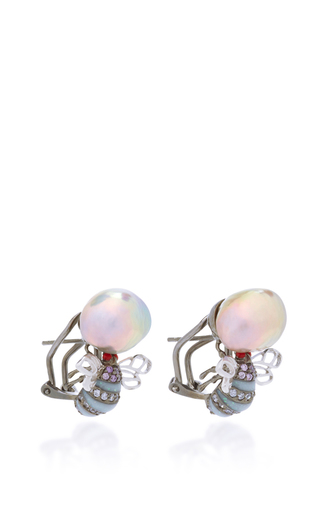 Mini Bumble Earrings by ANABELA CHAN Now Available on Moda Operandi