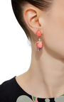 Opal Coral Earrings by ANABELA CHAN Now Available on Moda Operandi