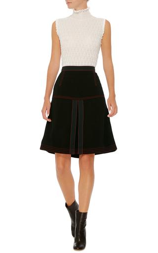 Pleated Mini Skirt by BURBERRY Now Available on Moda Operandi