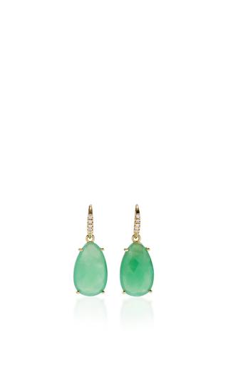 Medium lauren k green chrysoprase joyce earrings