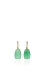 Chrysoprase Joyce Earrings by LAUREN K Now Available on Moda Operandi