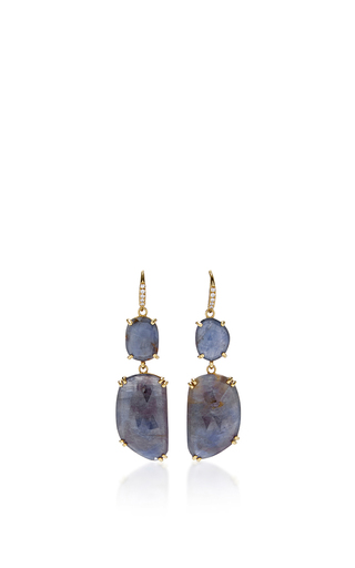 Medium lauren k blue blue sapphire joyce earrings