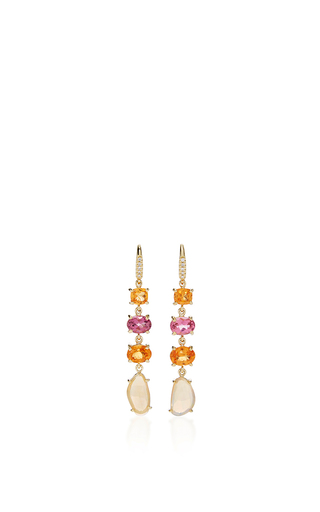 Medium lauren k multi multi color joyce earrings 2