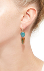 Boulder Opal Joyce Earrings by LAUREN K Now Available on Moda Operandi