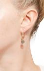 Labradorite & Faceted Opal Joyce Earrings by LAUREN K Now Available on Moda Operandi