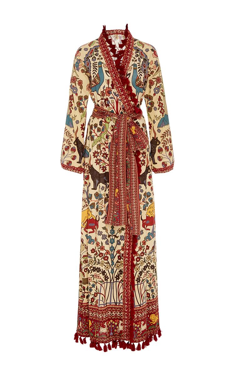 eb2f3a32ad51 Jagger Wrap Maxi Dress by Rhode | Moda Operandi
