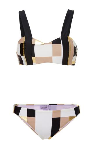 Medium gregor pirouzi multi kylie colorblock bikini set