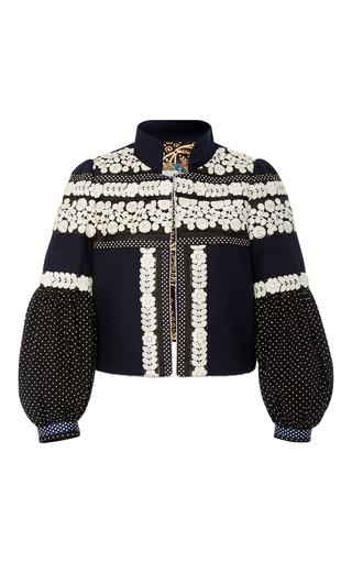 Medium alix of bohemia navy isobel embroidered jacket