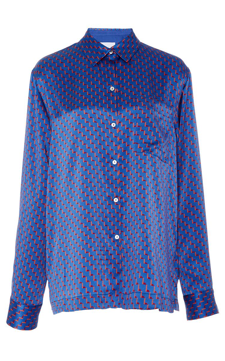 Red Arrow Printed Modern Pajama Top