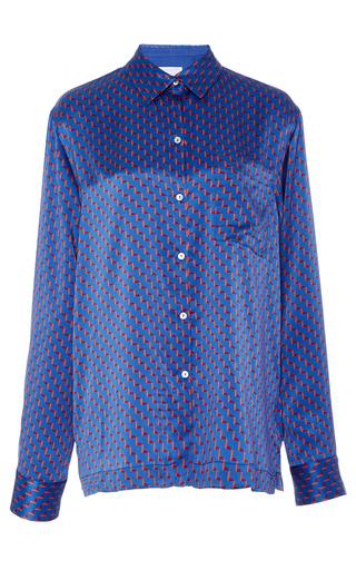 Medium asceno print red arrow printed modern pajama top