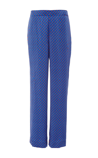 Medium asceno print printed modern pajama bottoms