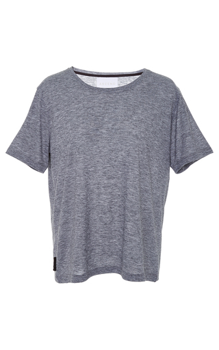 Medium asceno light grey paloma short sleeve sleep tee