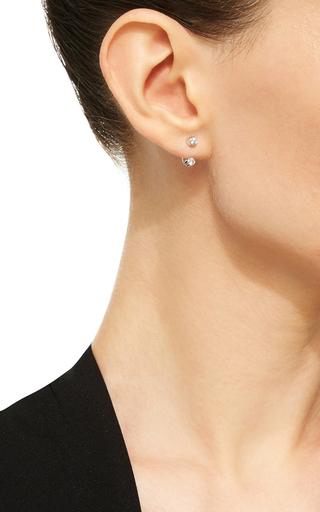 Mademoiselle Else Earring In White Gold With White Diamonds by VANRYCKE for Preorder on Moda Operandi