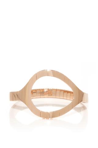 Medium vanrycke rose gold styloide bracelet in rose gold