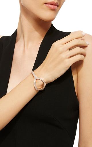 StyloÏde Bracelet In Rose Gold And White Diamonds by VANRYCKE for Preorder on Moda Operandi