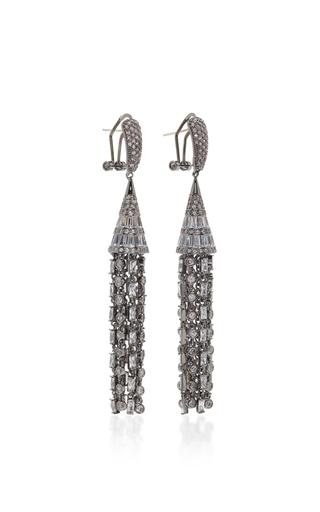 Monarch Deco Tulle Earrings by FALLON Now Available on Moda Operandi