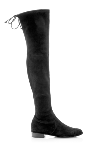 Medium stuart weitzman  2 black lowland boot