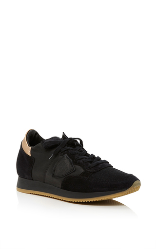 Medium philippe model black tropez sneaker 2