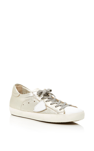 Medium philippe model gold classic sneaker