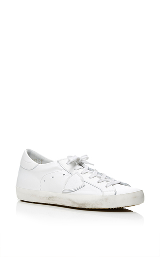 Medium philippe model white classic sneaker 2