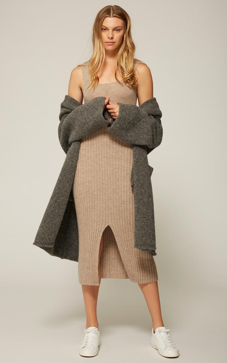 8fc807d1ec57fc Lauren ManoogianRib Knit Sleeveless Dress. CLOSE. Loading