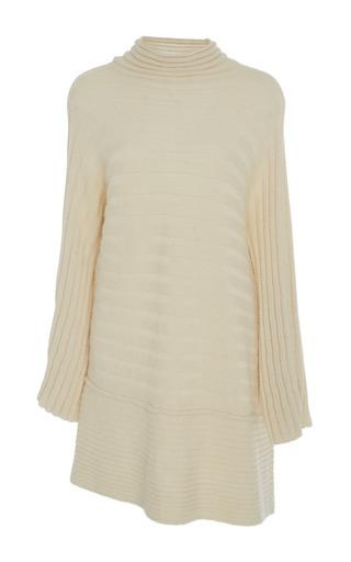 Medium lauren manoogian off white askew pullover sweater