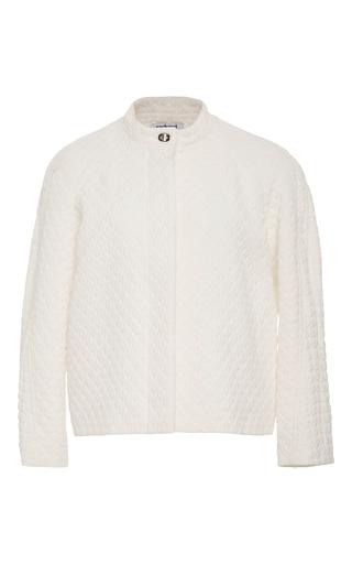 Medium cacharel  2 white quilted long sleeve jacket