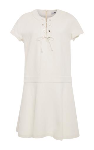 Medium cacharel  2 white lace neck mini dress