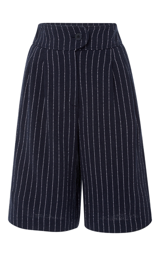 Medium cacharel  2 navy pinstripe bermuda shorts
