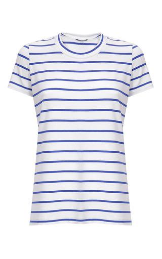 Medium dondup stripe striped short sleeve t shirt