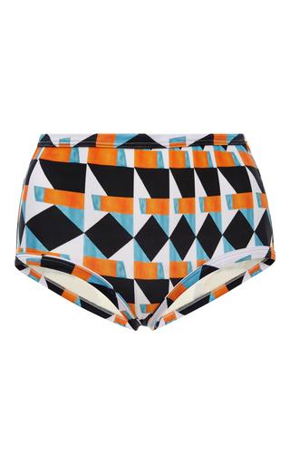 Medium lenny niemeyer print high rise printed bikini bottoms