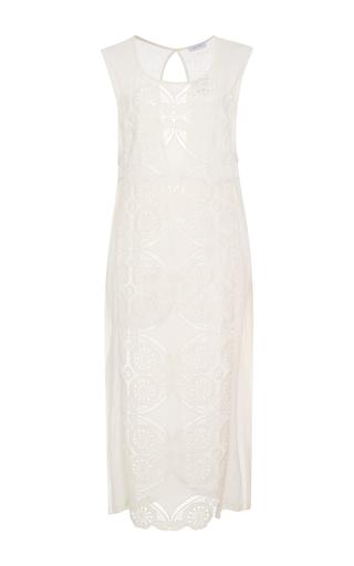 Medium lenny niemeyer white lace tunic dress